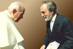 Встреча с Папой Иоанном Павлом II