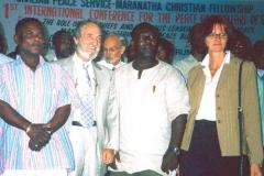 В Гане на первую Международную Конференцию во имя Мира и Благосостояния