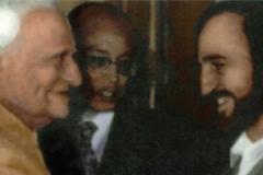 В г. Нью Дели с президентом Индии В.В. Джири (1987)