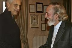 Вручение Премии Искусство, Наука и Мир тенору Андрееа Бочелли