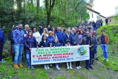 MARCH FOR NATURE RESPECT AND NON-VIOLENCE ON ANIMALS 2016