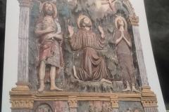 Искусство в Сарджьяно: Святой Франциск получает стигматы